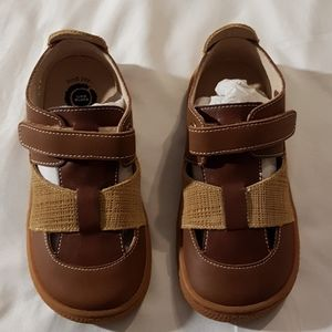 Brown Classic leather Captain sandals